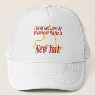 ニューヨーク-神は私を愛します キャップ