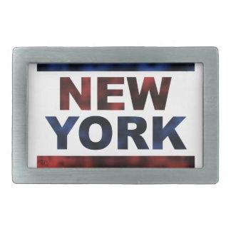 ニューヨーク 長方形ベルトバックル