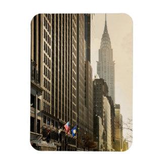 ニューヨーク、E 42 Stおよびクライスラの建物 マグネット