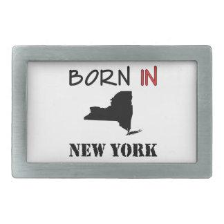 ニューヨーク- NY101で生まれて下さい 長方形ベルトバックル