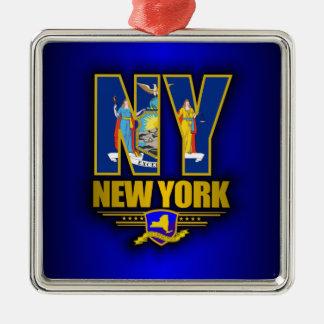 ニューヨーク (NY) メタルオーナメント
