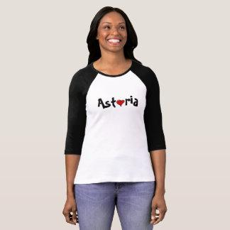 ニューヨークAstoriaのハートの女王のワイシャツ Tシャツ
