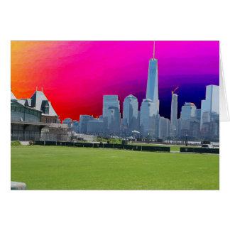 ニューヨークn Atalanticのビーチの写真撮影Navin Joshi カード