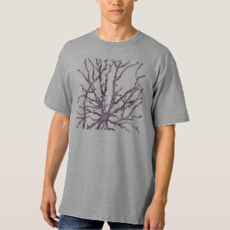 ニューロン紫色の影 Tシャツ
