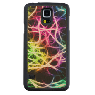 ニューロン CarvedメープルGalaxy S5スリムケース