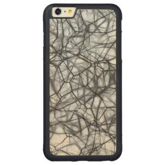 ニューロン CarvedメープルiPhone 6 PLUSバンパーケース