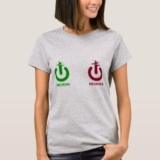 ニューロンNeuroffの女性上 Tシャツ