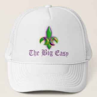 ニュー・オーリンズのアヤメの謝肉祭の大きく容易な帽子 キャップ