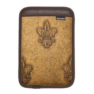 ニュー・オーリンズのフランスのな(紋章の)フラ・ダ・リノラ iPad MINIスリーブ