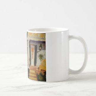 ニュー・オーリンズのポーチ コーヒーマグカップ