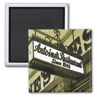 ニュー・オーリンズのレストラン マグネット
