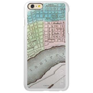 ニュー・オーリンズの地図1837年 INCIPIO FEATHER SHINE iPhone 6 PLUSケース