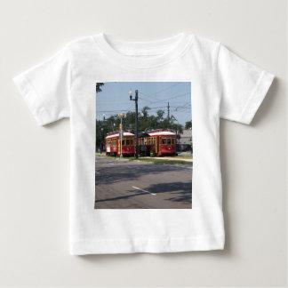 ニュー・オーリンズの市街電車 ベビーTシャツ