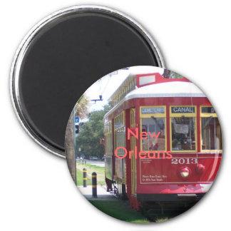 ニュー・オーリンズの市街電車 マグネット