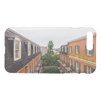 ニュー・オーリンズの建物そしてヤシの木 iPhone 8 PLUS/7 PLUS ケース