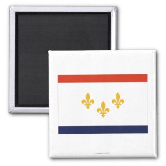 ニュー・オーリンズの旗 マグネット