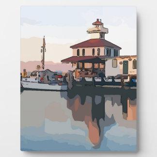 ニュー・オーリンズの灯台 フォトプラーク