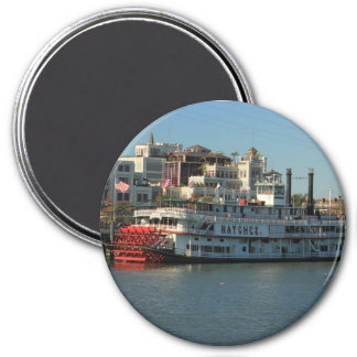 ニュー・オーリンズの磁石のNatchezの川船 マグネット