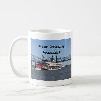 ニュー・オーリンズの舟 コーヒーマグカップ