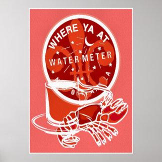 ニュー・オーリンズの記号のフレンチクォーターのメートルカバー ポスター