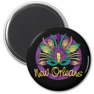 ニュー・オーリンズの謝肉祭のマスクの磁石 マグネット