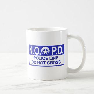 ニュー・オーリンズの警察 コーヒーマグカップ