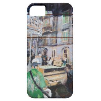 ニュー・オーリンズの通りのミュージシャン iPhone SE/5/5s ケース