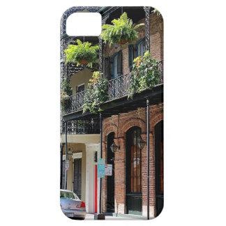 ニュー・オーリンズの通り場面 iPhone SE/5/5s ケース