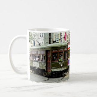 ニュー・オーリンズの通り車 コーヒーマグカップ