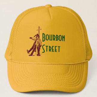 ニュー・オーリンズクラシックなブルボンの通りによって飲まれるスタイルの帽子 キャップ