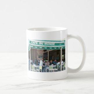 ニュー・オーリンズコーヒーおよびBeignets コーヒーマグカップ