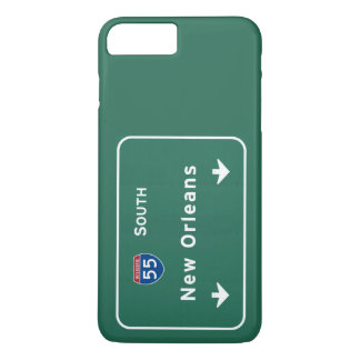 ニュー・オーリンズルイジアナの州間幹線道路の高速道路: iPhone 8 PLUS/7 PLUSケース