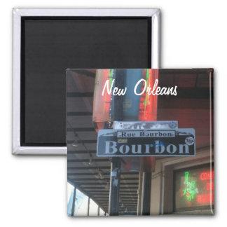 ニュー・オーリンズルイジアナブルボンの通りの磁石 マグネット