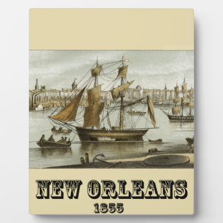 ニュー・オーリンズ1855年 フォトプラーク