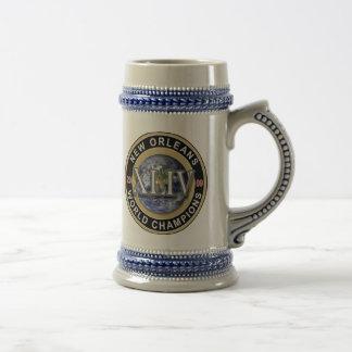 ニュー・オーリンズ-世界のチャンピオン- XLIV ビールジョッキ