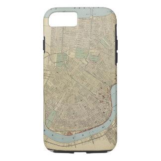 ニュー・オーリンズ(1919年)のヴィンテージの地図 iPhone 8/7ケース