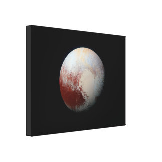 ニュー・ホライズンズのキャンバスプリントによる小型惑星プルート キャンバスプリント