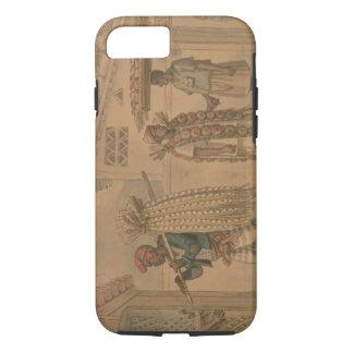 ニンニクおよびタマネギの販売人1826年(w/c紙で) iPhone 8/7ケース