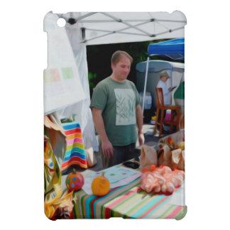 ニンニクのフェスティバルの売り手1 iPad MINI カバー
