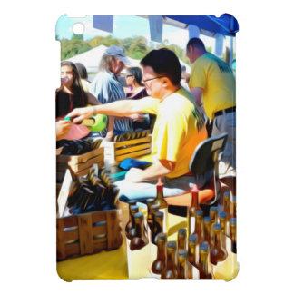 ニンニクのフェスティバルはニンニクの酢およびオリーブのoiを提供します iPad miniケース