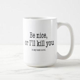 ニースの作家のマグがあって下さい コーヒーマグカップ