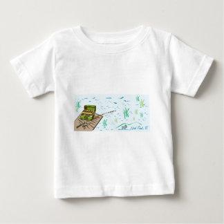 ニールの池の魚釣り ベビーTシャツ