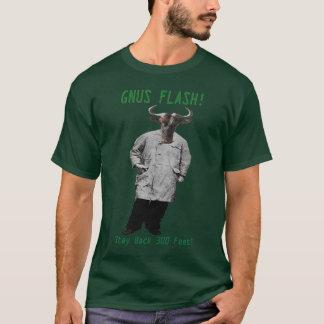 ヌーのフラッシュ! 滞在300の足! Tシャツ