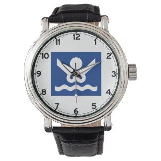 ヌーディストのビーチの印(2)、ノルウェー 腕時計