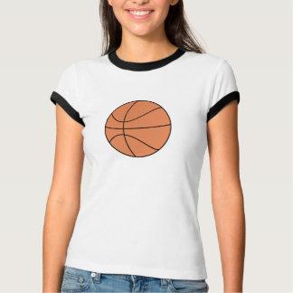 ヌードルのバスケットボールのティー Tシャツ