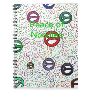 ヌードルの平和 ノートブック