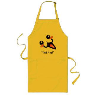 """ヌードルの店のエプロンは-ミニLune - """"それを調理します! """" ロングエプロン"""