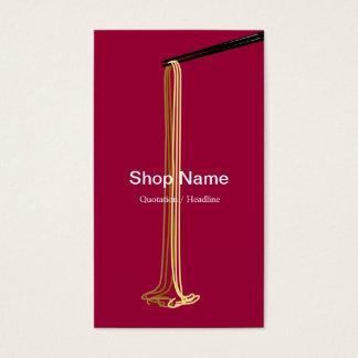 ヌードルの店の名刺 名刺
