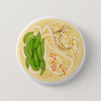 ヌードル・スープ 5.7CM 丸型バッジ