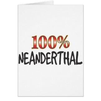 ネアンデルタール人100% カード